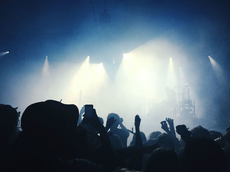 Hudson Mohawke Concert Moshpit Teenagers  And Me Festival Way Out West Gothenburg Music