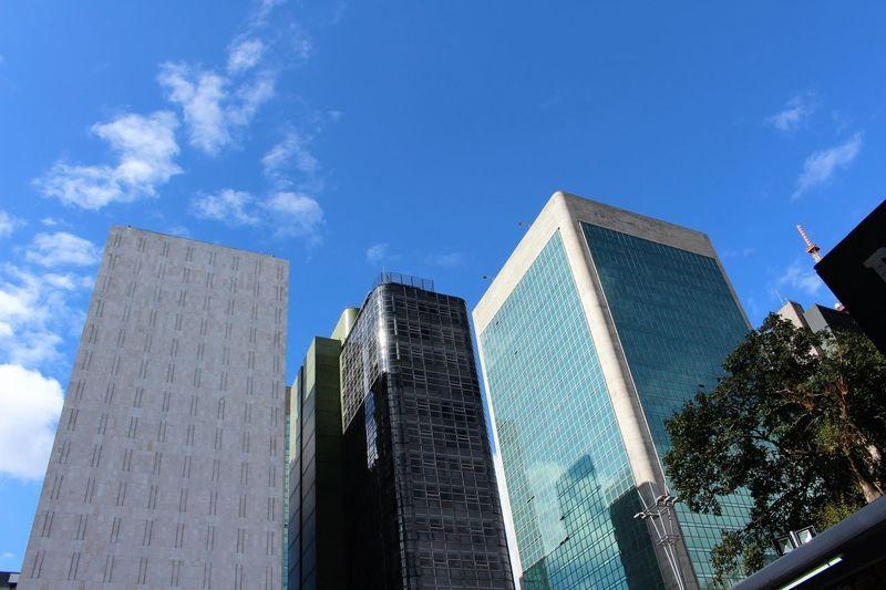 Architecture Building Exterior City Cloud - Sky Modern Paulista Avenue Sao Paulo - Brazil