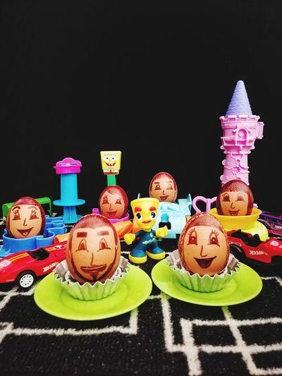 Art on Eggs