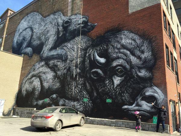 Graffitis Murale