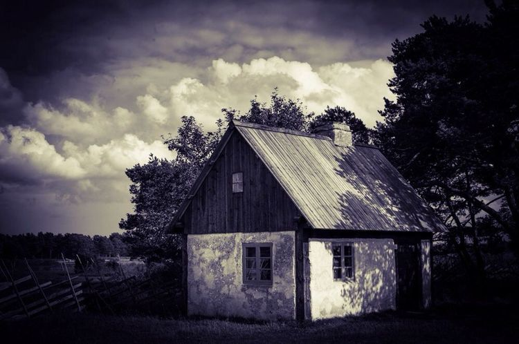 If no changes are made, time will stand still..... Clouds Oldhouse Blackandwhite Nature