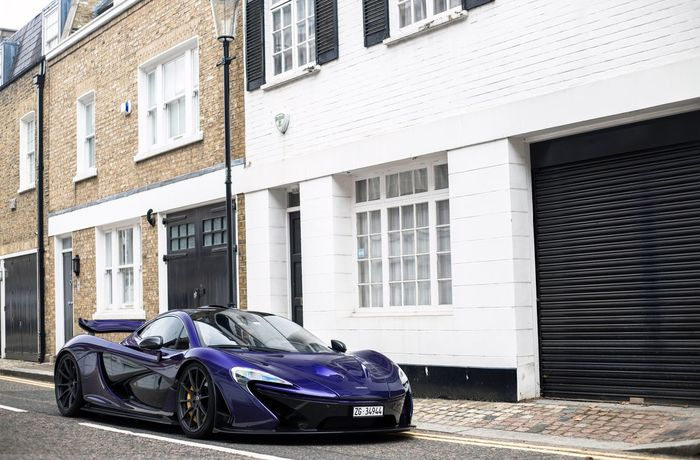 Purple carbon. Car Parking McLaren Mclaren P1 P1 Purple Carbon V8