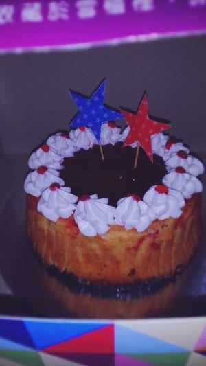 Petit baked cheese cake with strawberry flavor .Serikembangan Serdang Bandarputrapermai Malaysian Food