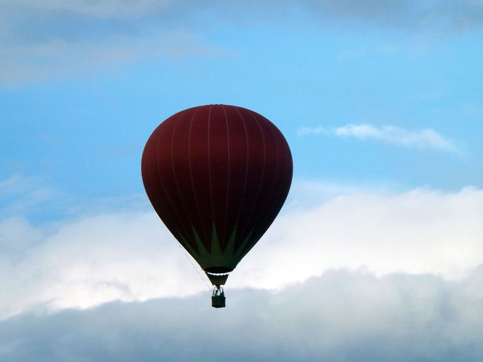 Beauty In Nature Cloud - Sky Cloudy Hot Air Balloon Nature No People Scenics Sky Tranquility Travel Travel Photography Vang Vieng Laos