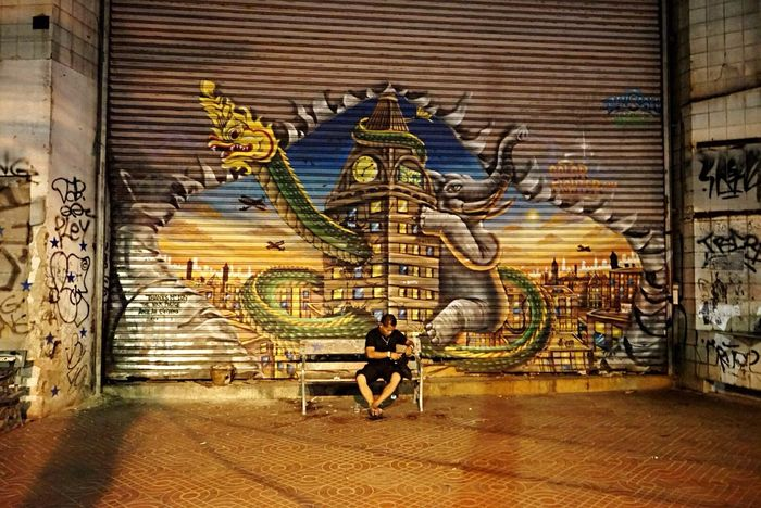 Streetphotography Street Art Streettun Thailand_allshots Graffiti Thailand Only