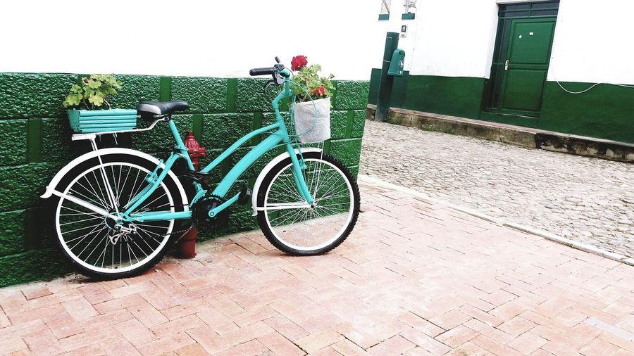 bike Bicycle Land Vehicle Stationary Sky