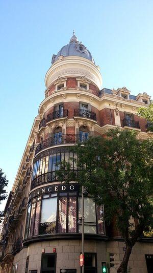 Esquina de Jorge Juan con Velazquez Madrid