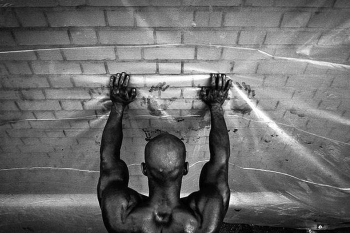 Ig_contrast_bnw Blackandwhite Bnw_eye Bnw_life Bnw Bnw_captures Bw_batavia Bw_lover Bw Documentary Bodybuilding Photowonderful_bw Photojournalism Streetart Streetphotography2015 Roozdaily Intresting Instamessage Instagold Instagram Iran Capture