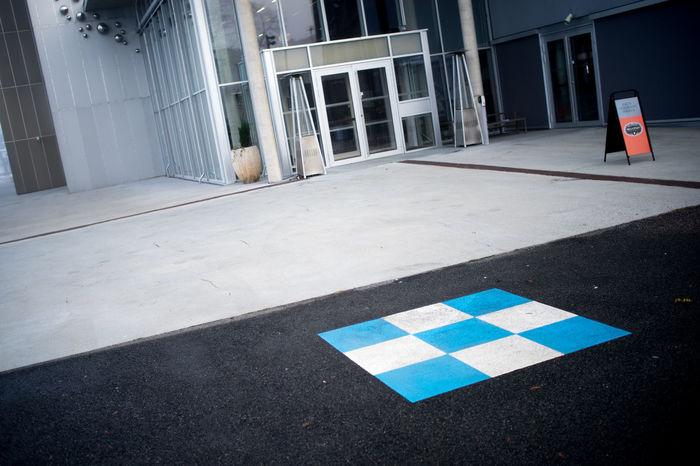 Square 35mm 35mm F2 Asfalt City Door No People Norway Norway🇳🇴 Outdoors Porsgrunn Public Building Public Places Road Sign Sony A7 ælvespeilet