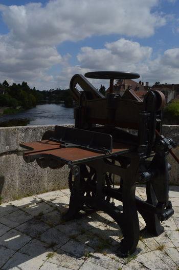 Cloud Cloud - Sky Press Printing Machine Riverbank Sky Tourism Water