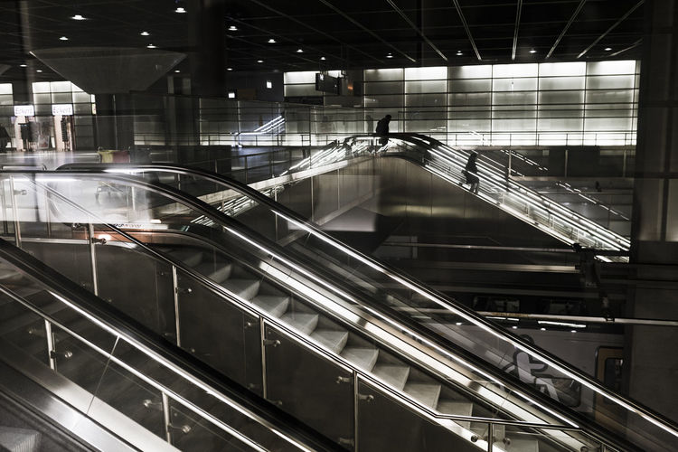 mountains. Berlin Colors Metro Underground Architecture Berlinale Escalator Futuristic Illuminated Indoors  Light Mountain Potsdamer Platz Sbahn Staircase Steps And Staircases Streetphotography Subway Technology Tranportation Ubahn Mobility In Mega Cities Colour Your Horizn