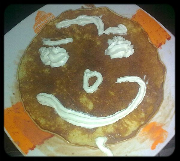 Homemade pancakes at home ... | Tortitas caseras en casa... Don't Play With Your Food Home ñam ñam Homemade