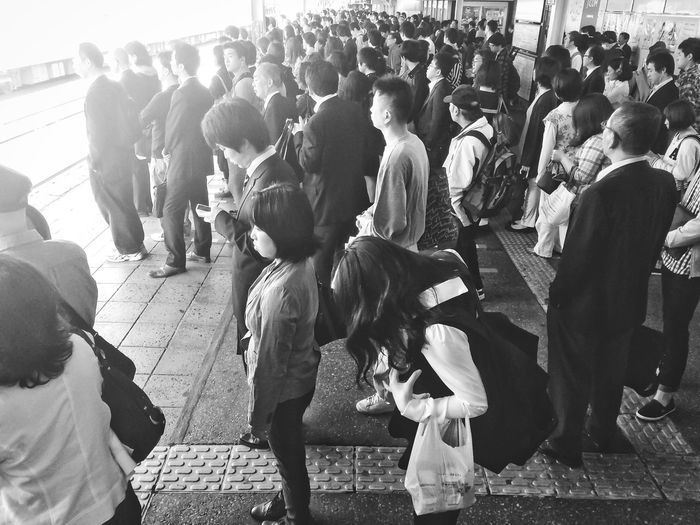 During in the rush hour| Morning Good Morning Rush Hour People People Watching People Photography Sun Sunrise Sunshine Monochrome Blackandwhite Black And White Black & White Blackandwhite Photography B&w Street Photography Showcase: December Black And White Photography Portrait Light And Shadow Flash Station Urban Geometry Urban Lifestyle Urbanexploration The Photojournalist - 2016 EyeEm Awards