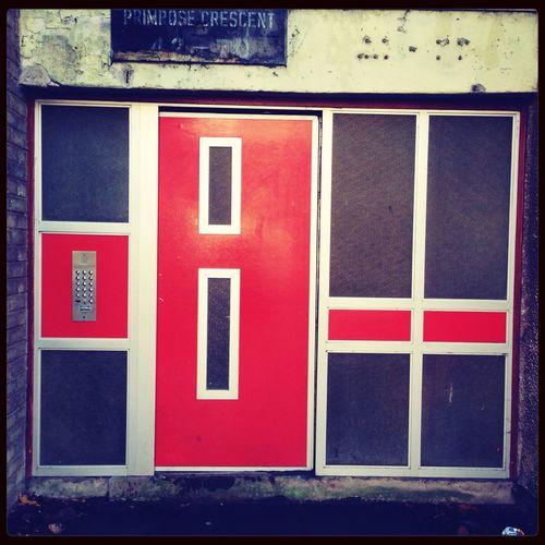 Door to Visit People
