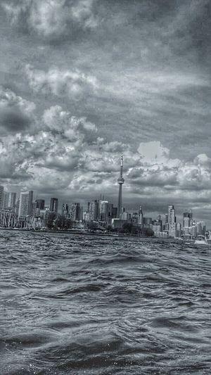 Toronto Canada Downtown Downtown Toronto Cntower LakeOntaio RogersCenter Ontario Canada