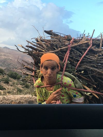 Agriculture Beautiful Woman Berber  Close-up Day Front View Growth Headshot Morocco Memories Mountain Nature Nature One Man Only One Person Outdoors People Plant Portrait Sky Tree Woman Woman Portrait Young Adult