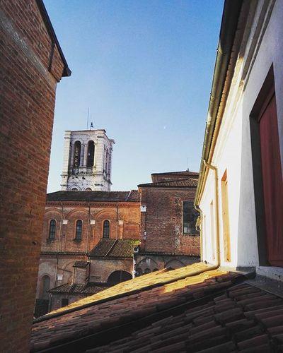 [views] Ferrara Italy Italia View Sun Architecture Perspective City Building Sky Unife
