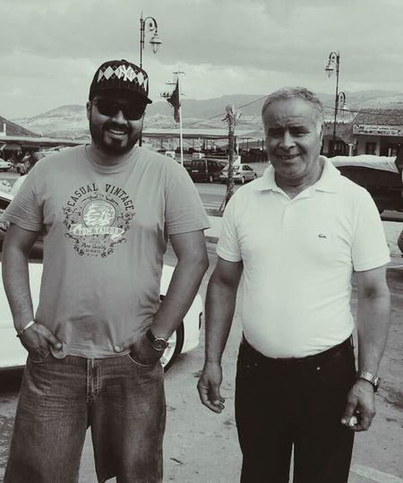 Moi et mon cher père