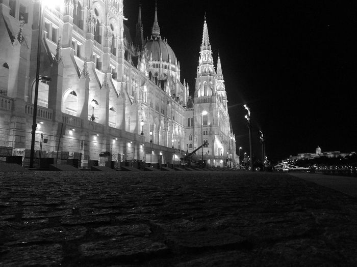 Night walk in BP Noir Travel Beauty Budapest Parliament Danube Citylife Nightshot Politics And Government City Illuminated Government Clock Tower Sky Architecture Building Exterior Built Structure Politics