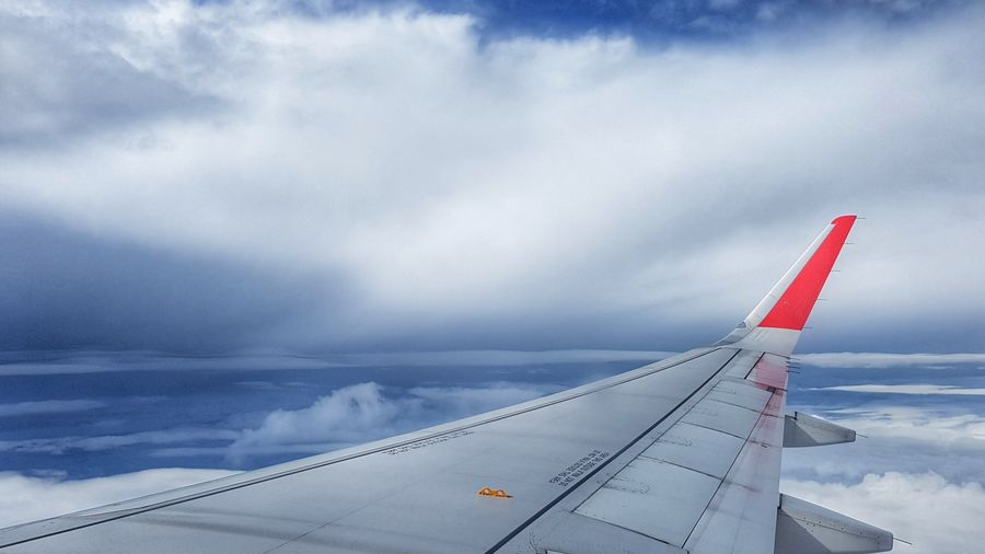 flight to Surat Thani Thailand Cloud - Sky Airplane Transportation Flying Airasia Travel EyeEmNewHere