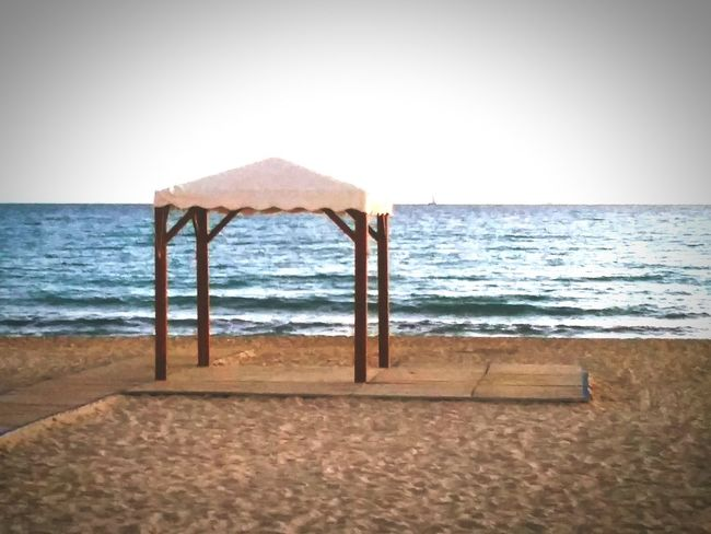 Sarah7790 Mallorca Can Pastilla Pavillon Meer Meerblick Sea Water Horizon Over Water Scenics Beach Tranquil Scene Tranquility Sand Built Structure Beauty In Nature Nature Sky Structure Jetty Outdoors Vacations