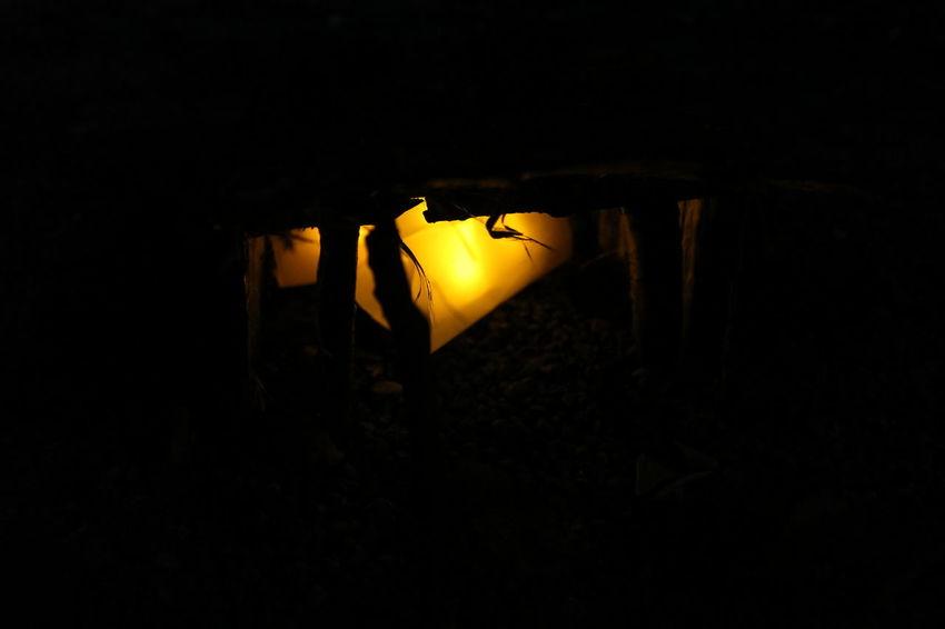 Dark Light Night Orange Silhouette Black ArtWork Wood Warm Winter EyeEmNewHere
