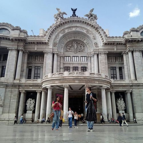 Bellas Artes,México City Mobile Conversations Photooftheday Building Exterior History People Politics And Government Architectural Column Architecture Travel Destinations Full Length City ArtWork Art Culture Beauty Portrait Travel Photography Bellas Artes Palace