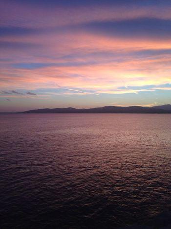 Taking Photos Landscapelovers Coucher De Soleil Sea