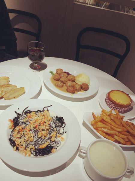 Enjoying Life Dinner Pasta Relaxing RainyDay Foodphotography
