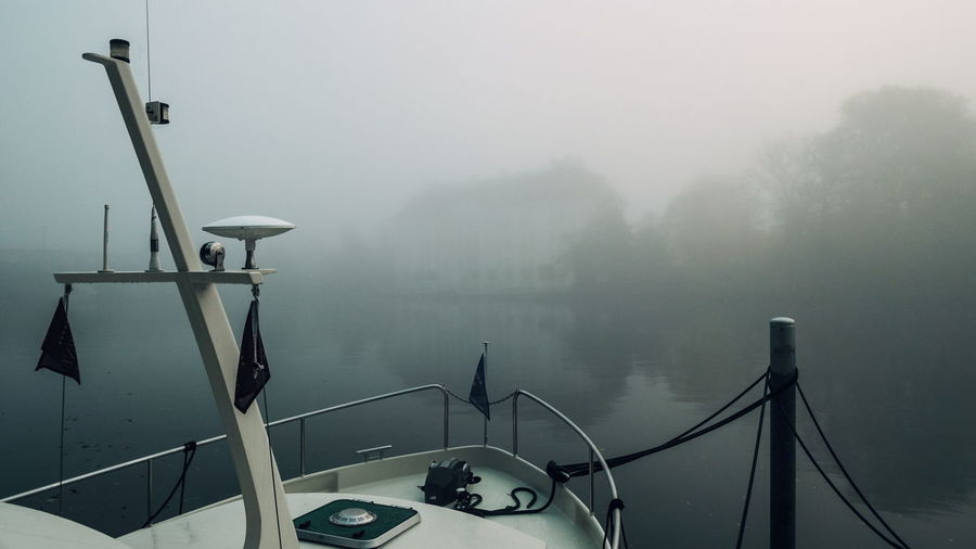 | Foggy Moods Hazey Misty Day Fog Foggy Mist Nature Nautical Vessel Outdoors Water Weather