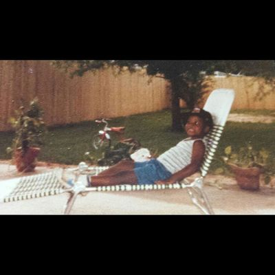 Recreation  was always a specialty of mine! Y'all dont see the O.G. Tricycle in the back! Lol TBT  84