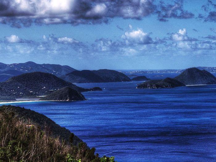 Sky Water Sea Beauty In Nature Scenics - Nature Cloud - Sky Tranquil Scene Nature Mountain Outdoors Idyllic Night Beach