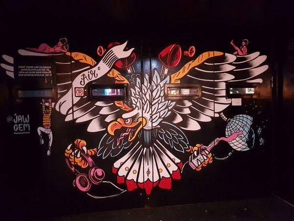 murals Evening EyeEm Selects Entertainment Light Painting Long Exposure Exploding Light Trail Glowing High Street