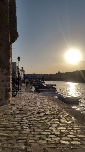 Sea Travel Destinations Sunset Tunisia_with_love Bizerte Tunisia Vacations