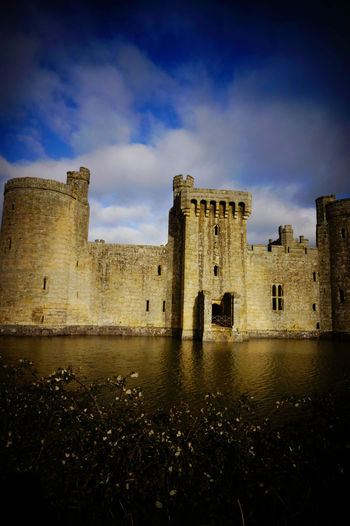 Bodiam Castle Ancient Architecture Bodiam Castle Building Exterior Built Structure Castle Culture Historic History Medieval Architecture Old Old Ruin Ruined The Past Travel Travel Destinations