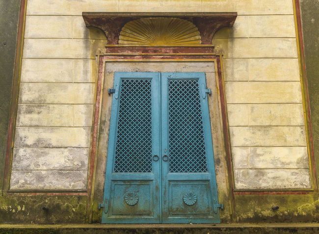 Abandoned Ancient Antique Architecture Building Exterior Cemetery Closed Creepy Door Egypt Entrace Grunge Mysterious No People Old Oriental Outdoors Scary Tomb Turquoise Vintage