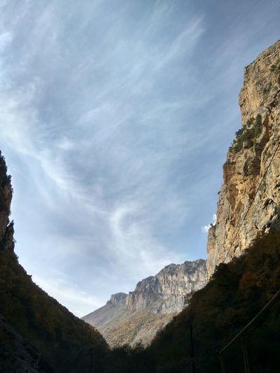 Mountain Mountain Peak Tree Pinaceae Rock - Object Steep Sky Landscape Mountain Range Rock Formation Canyon Rocky Mountains