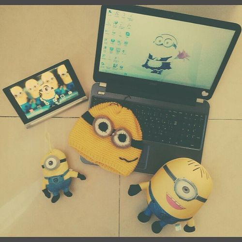 @sahandghoreyshi ???? My Minions Iamaminioner Iloveminions cute yellowish minion