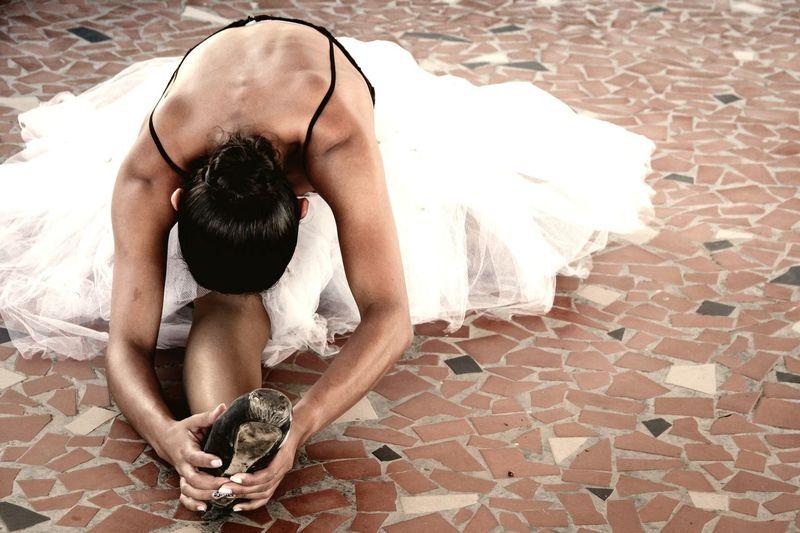 EyeEmNewHere EyeEm Selects Ballet Dancer Females Women Young Women Ballet Low Section Human Back Beautiful Woman Dancer Full Length