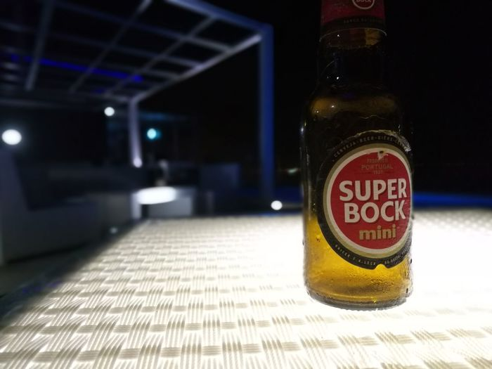 Focus On Foreground No People Indoors  Illuminated Close-up Day Super Bock