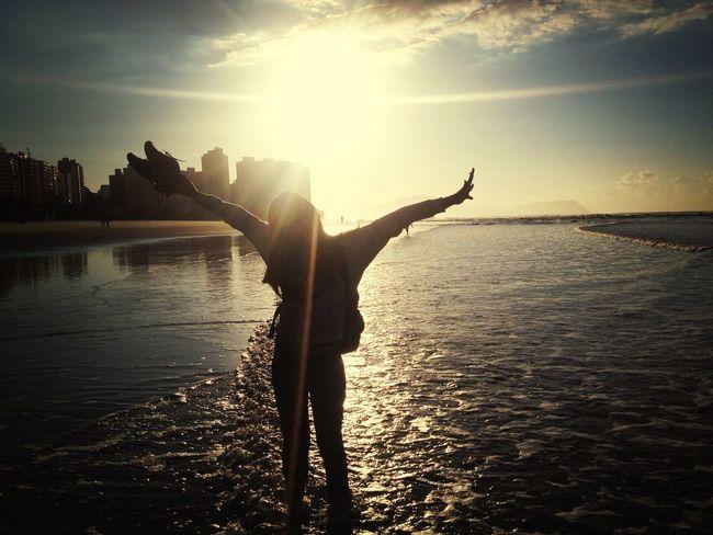 Beach Sun Sand Enjoy Life