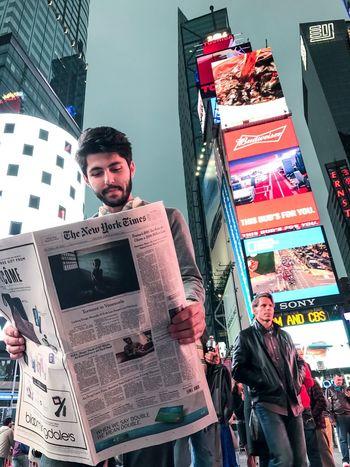 📰 New York City The New York Times TimesSquare Skyscraper City Night Manhattan New York City Life Türkiye Turkey Lieblingsteil EyeEmNewHere