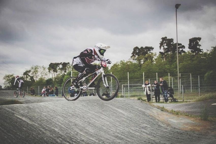 The Color Of Sport Sport Sports Photography Bmx  OurLifeStyle Bicycle Riding On The Move Competition Leisure Activity Casual Clothing Cloud - Sky Canonphotography Madeby FlexoGrafie