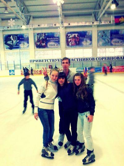 My Photography With My Friend Icerink Open Edit Hello World Russian Teenagers My Friend ❤ Кущёвская Snowman Open Edit