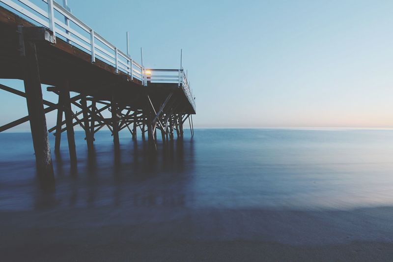 water Los Angeles, California Malibu Water Sea Sky Horizon Over Water Built Structure Architecture Horizon No People Clear Sky Tranquil Scene Nature Scenics - Nature Tranquility Beauty In Nature Beach Pier Waterfront Day Land Outdoors