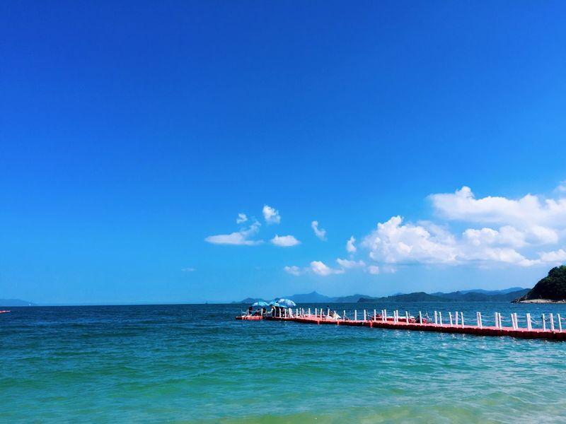 蔚蓝色大海