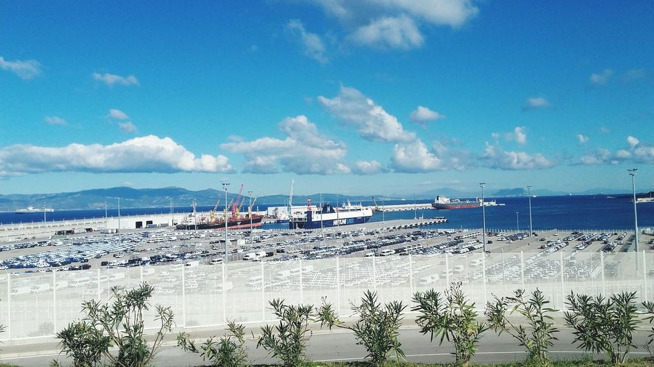 Transportation Morocco Journey Morring Panoramicshot tanger Trasport Ships