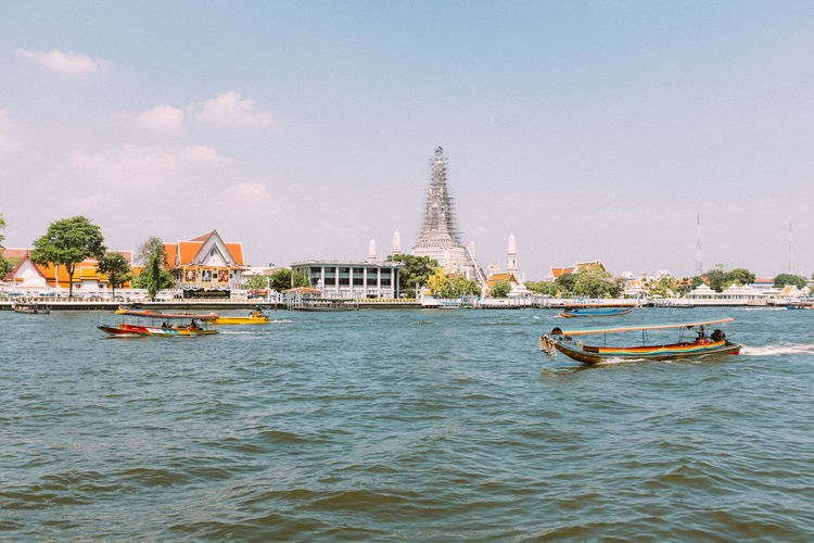 Rivergating Fujifilm_xseries Bangkok Thailand Nautical Vessel Transportation Water Mode Of Transportation Waterfront Built Structure Sky Architecture Travel Nature Day Building Exterior Sea Travel Destinations Outdoors Tourism No People Passenger Craft