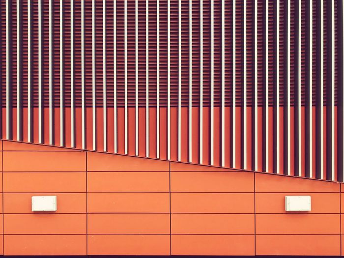 Downtownline Expo Pattern Array Orange Expomrt Ventilation Louvre Louver Shaft EyeEm Selects EyeEmNewHere The Graphic City The Graphic City