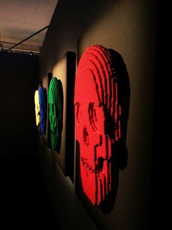 EyeEm Diversity Indoors  Hanging Night Illuminated Adult People Only Men Skull Skulls Skull Face Skull Art Skulls♥ Skulls💀 Skullart Skullface Skulls 💀 LEGO Legos Lego Art Lego Photography LegoLover Legofan Lego Time! Legophotography